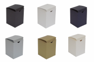 Pearlescent Tall Wedding / Party Favour Boxes, Choose Colour - Choose QTY